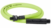 "Legacy HFZ3804YW2B  Flexzilla ZillaWhip 3/8"" X 4' Air Hose with 1/4"" MNPT Ball swivel x 1/4"" FNPT"