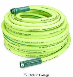 """Legacy HFZG5100YW  Flexzilla 5/8"""" X 100' Garden Hose Assembly with 3/4""""- 11-1/2"""" GHT Fittings"""