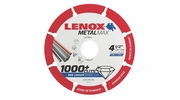 "Lenox 1972921  Cut Off Wheel 4.5"" MetalMax Diamond 7/8"" Arbor"