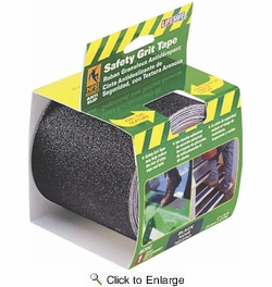 "Life Safe RE3952  4"" x 15' Safety Grip Tape Roll - Black"