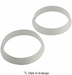 """Lincoln 100214  1-1/2"""" Slip Joint Washers - Plastic - 2 per Package"""