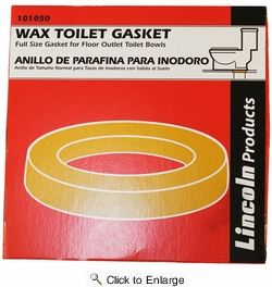 Lincoln 101050  Wax Toilet Gasket