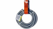 "Lincoln 109557  1/4"" OD Comp Nut Stainless Steel Icemaker Supply Line - 60"" Length"