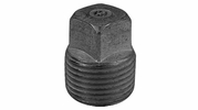 "Lincoln 440084  1/2"" Plug Galvanized Pipe Fitting"