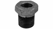 "Lincoln 440319  3/4"" Male x 1/2"" Female Bushing Galvanized Pipe Fitting"