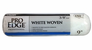 """Linzer RC101-9  Pro Edge 3/8"""" x 9"""" White Woven Roller Cover"""