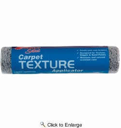 """Linzer RC115  Project Select 1/4"""" x 9"""" Carpet Texture Roller Cover"""