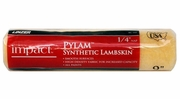 """Linzer RC142  Impact 1/4"""" x 9"""" Pylam Synthetic Lambskin Roller Cover"""