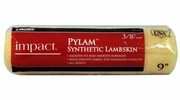 """Linzer RC143  Impact 3/8"""" x 9"""" Pylam Synthetic Lambskin Roller Cover"""