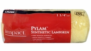 """Linzer RC147  Impact 1-1/4"""" x 9"""" Pylam Synthetic Lambskin Roller Cover"""