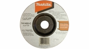 "Makita 741402-9-1  4"" x 1/4"" with 5/8"" Arbor General Purpose 24 Grit Grinding Wheel for Metal - Single Wheel"
