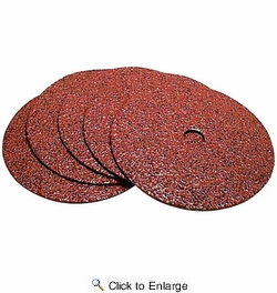 """Makita 742037-A-5  4"""" x 5/8"""" Arbor Abrasive Grinding Discs 36 Grit - 5 per Package"""