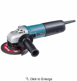 "Makita 9565CV  5"" Variable Speed Angle Grinder - 12 AMP"