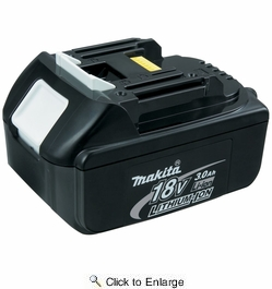 Makita BL1830  18-Volt LXT Lithium-Ion Replacement Cordless Battery - 3.0 Ah