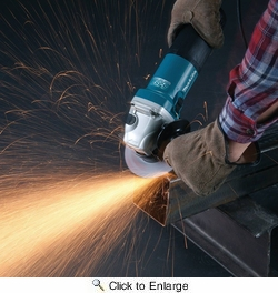 "Makita GA5042C  5"" SJS II High Power Angle Grinder"