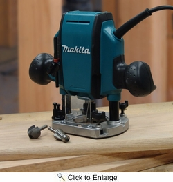 Makita RP0900K  1-1/4 HP Plunge Router Kit - 8 Amp
