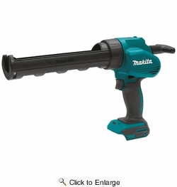 Makita XGC01Z  18-Volt LXT Lithium-Ion Cordless Caulk and Adhesive Gun, 10 Ounce (Tool Only)