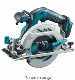 """Makita XSH03Z  18 Volt LXT Lithium-Ion Brushless Cordless 6-1/2"""" Circular Saw (Tool Only)"""