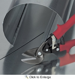 Malco M2006  Max2000 Offset Aviation Snips - Left Cut 1-1/4 Inch