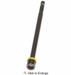 """Malco MSHXL516  6"""" Magnetic Hex Chuck Driver - 5/16"""" Hex Opening (Yellow)"""