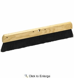 """Marshalltown 830  24"""" Wood Backed Concrete Broom with 2-3/4"""" Bristles (16420)"""
