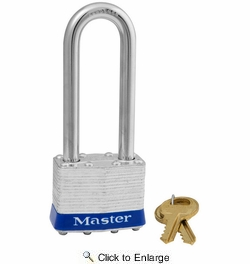 """Master Lock 1DLJ  1-3/4"""" Wide Laminated Padlock with 2-1/2"""" Shackle Height"""