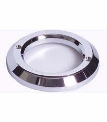 "Maxxima M50305  2"" Chrome Plastic Grommet Cover Fits over 2"" Grommet #M50300"