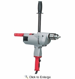 "Milwaukee 1854-1  3/4"" Large Drill, 350 RPM"