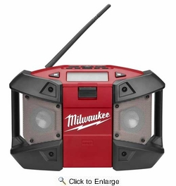 Milwaukee 2590-20  12-Volt M12 Weather Proof Radio with MP3 Player