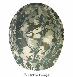 MSA Safety Works  10103908  Freedom Series V-Gard Protective Hard Hat -Camouflage
