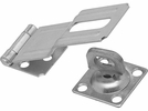 """National  N102-921  Swivel Staple Safety Hasp 4-1/2"""" - Zinc Plated (V32)"""