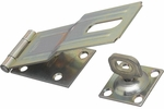 """National  N102-962  Swivel Staple Safety Hasp 6"""" - Zinc Plated (V32)"""