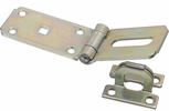 """National  N103-176  Extra Heavy Safety Hasp 7-1/4"""" - Zinc Plated (V33)"""