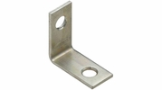 "National  N113-050  Corner Brace 1"" X 1/2"" - Zinc Plated - 4 Per Package (V115)"