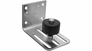 National  N131-490  Adjustable Heavy Stay Roller Side Mount - Galvanized