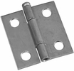 """National  N141-739  Removable 1-1/2"""" Pin Hinge - Zinc Plated - 2 Per Package (V508)"""