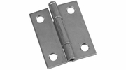 """National  N141-838  Removable 2"""" Pin Hinge - Zinc Plated - 2 Per Package (V508)"""