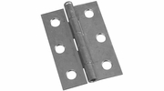 """National  N141-945  Removable 2-1/2"""" Pin Hinge - Zinc Plated - 2 Per Package (V508)"""