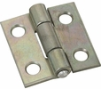 """National  N145-920  Non-Removable 1"""" Pin Hinge - Zinc Plated - 2 Per Package (V518)"""