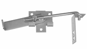 "National N161-760  7"" Hook Jamb Latch - Zinc Plated"