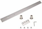 "National  N187-062  Sliding Door 24"" Track Extension Kit - Satin Nickel (954)"