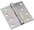 """National  N195-677  Removable Pin 4"""" Broad Hinge - Zinc Plated - 2 Per Package (V504)"""