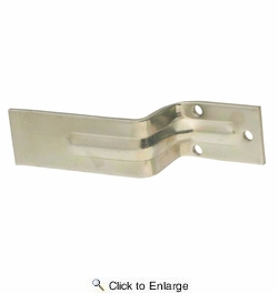 National  N235-309  Open Bar Holder For 2X4 - Zinc Plated (SP15BC)