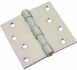 """National  N261-669  Non-Removable Pin 4"""" Hinge - Zinc Plated (V505)"""