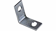 "National N266-270  1"" Corner Brace - Zinc Plated"