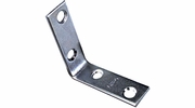 "National N266-361  2"" Corner Brace - Zinc Plated"