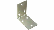 "National  N285-569  2-1/2"" X 1-1/2"" Corner Brace - Zinc Plated - 2 Per Package (V121)"