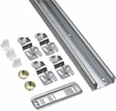 "National  N343-129  60"" By-Pass Door Kit - Galvanized (771D)"