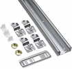 "National  N343-137  72"" By-Pass Door Kit - Galvanized (771D)"
