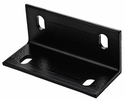"National  N351-493  3"" X 6.6"" X 1/4"" Wide Corner Brace - Black"